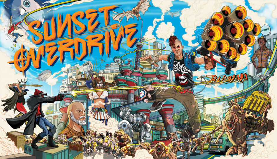 Sunset Overdrive – Video: Ganze Mission + Multiplayer Gameplay