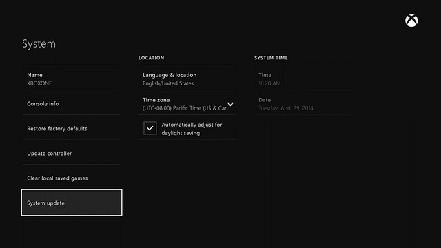 Xbox One – Dashboard Preview – Features