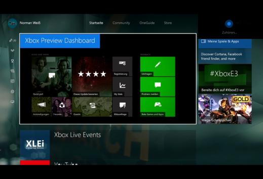 Special: Xbox One Anniversary Update - Wir haben uns die neuen Features genauer angesehen