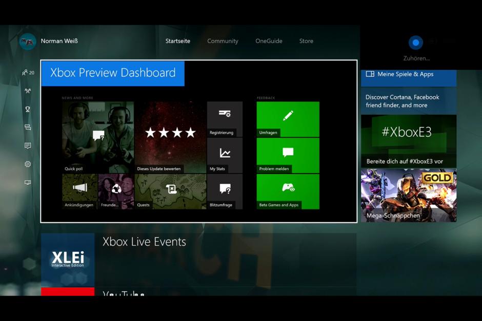 Special: Xbox One Anniversary Update – Wir haben uns die neuen Features genauer angesehen