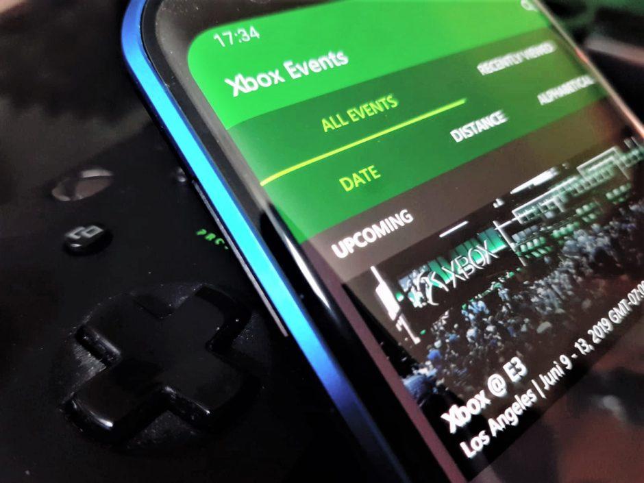 E3 2019: Xbox Events App für iOS und Android veröffentlicht