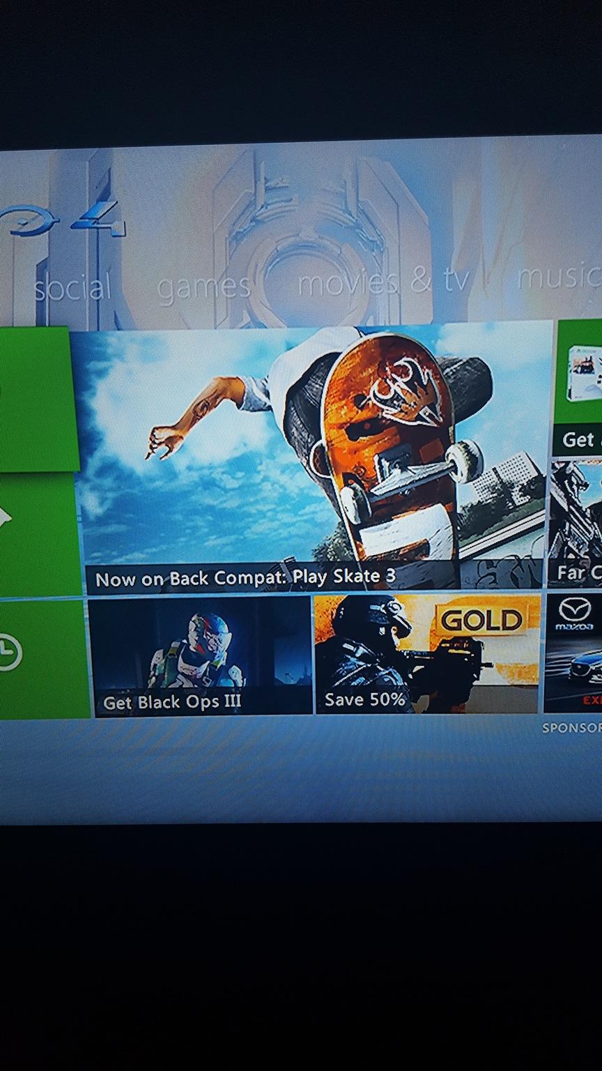 Skate 3 im Xbox One Dashboard gesichtet