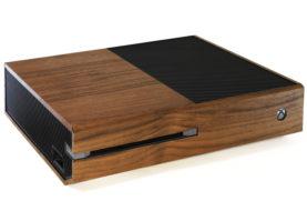 Xbox One - Holzcover für ein edles Design