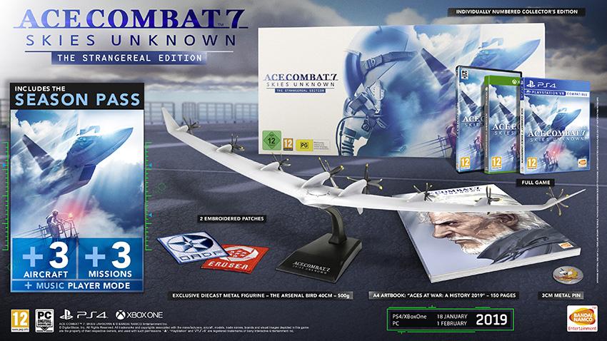 Ace Combat 7: Skies Unknown – Collector´s Edition vorgestellt