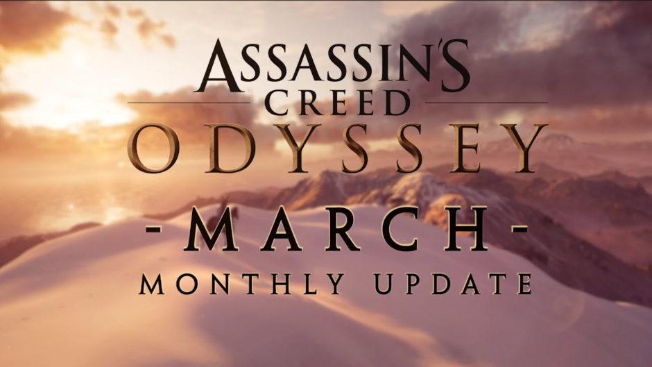 Assassin's Creed Odyssey – Auf diese Inhalte für März dürft ihr euch freuen