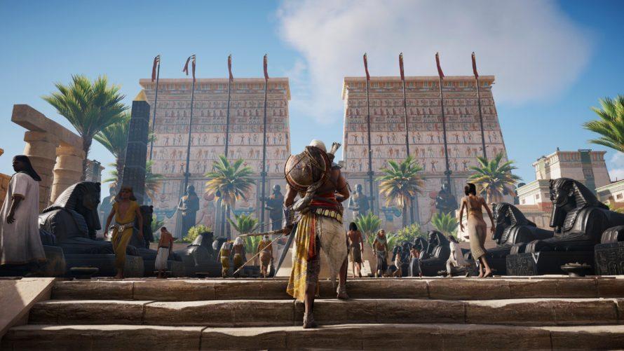 Assassin´s Creed Origins – Neue 4K-Screens zeigen Bayek in allen Lebenslagen