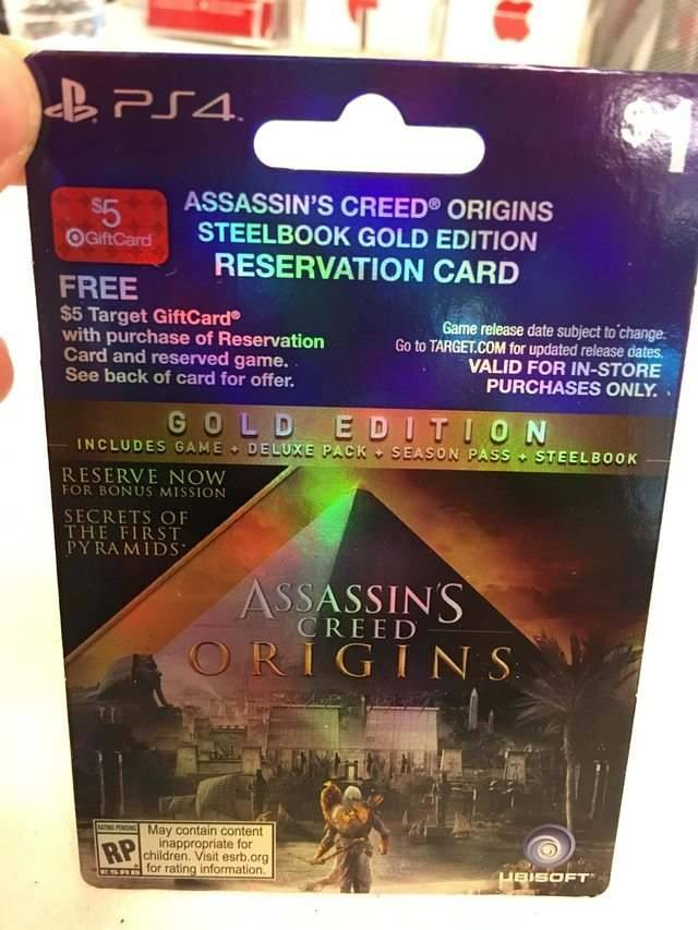 Assassin's Creed Origins Pre Order