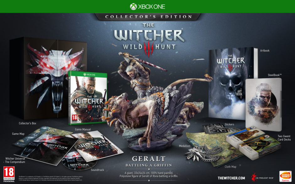 The Witcher 3: Wild Hunt – Mächtige Collectors Edition enthüllt