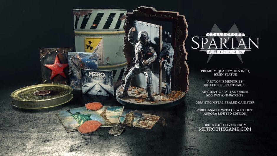 Metro Exodus – Spartan Collector´s Edition enthüllt