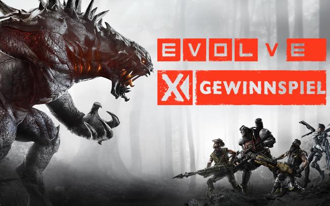 *UPDATE* Gewinnspiel: Gewinnt ein Evolve Fanpaket  – Alle Infos hier