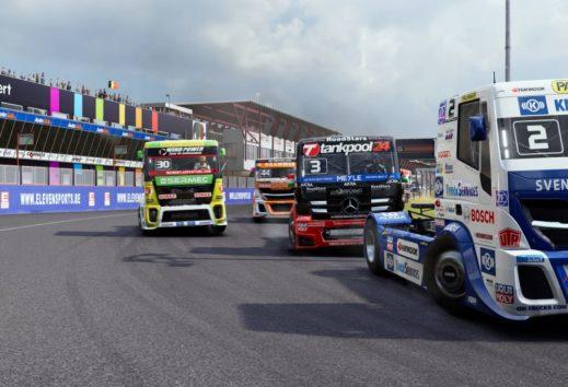 FIA European Truck Racing Championship - Erstes Gameplay veröffentlicht