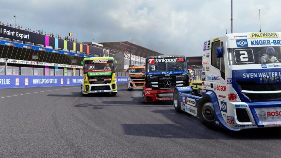 FIA European Truck Racing Championship – Erstes Gameplay veröffentlicht