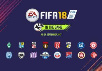 FIFA 18 - Erstmals auch mit der 3. Bundesliga am Start