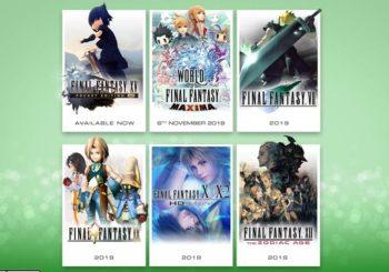 Final Fantasy 7, 9, 10, X-2, 12 und World of Final Fantasy erscheinen für Xbox One