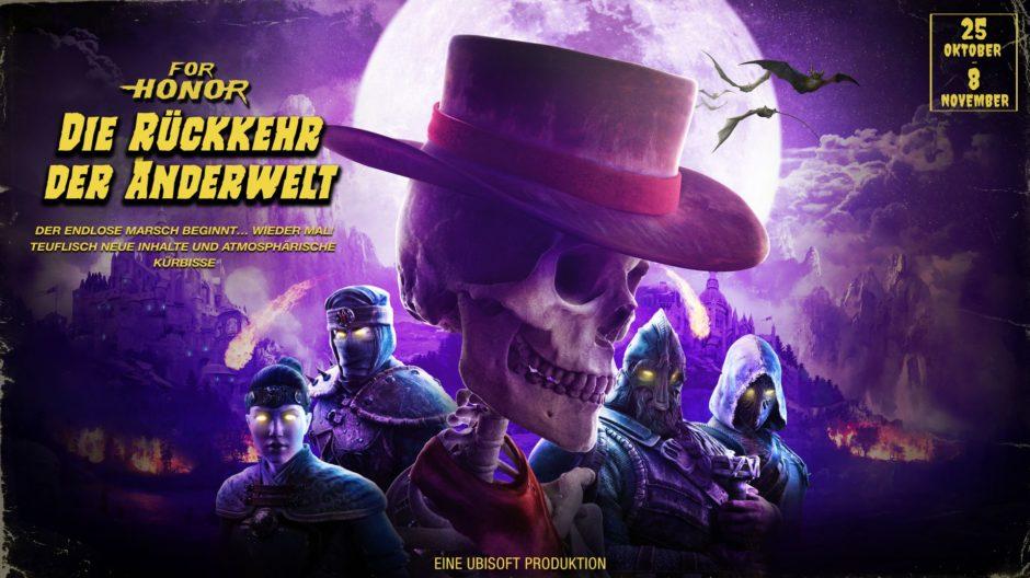 """For Honor – Dieses Halloween müssen die Spieler den """"Endlosen Marsch"""" überleben"""