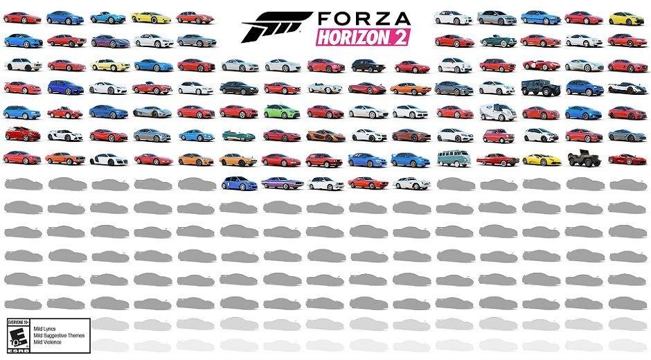Forza Horizon 2 – Die ersten 100 Autos enthüllt