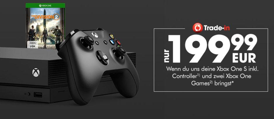 GameStop-Eintauschaktion – Alte Konsole abgeben und Xbox One X 1TB im The Division2-Bundle sichern