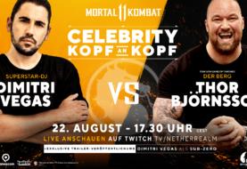 Mortal Kombat 11 - DJ Dimitri Vegas tritt bei der gamescom 2019 gegen Schauspieler aus Game of Thrones an