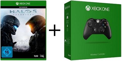Xbox One – Schnäppchenalarm bei Media Markt: Sichert euch jetzt Halo 5 + Controller für 79 Euro!