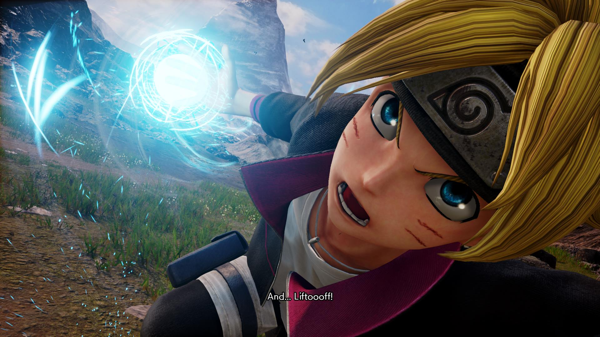 Jump Force Boruto Uzumaki