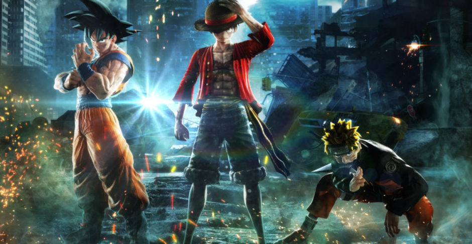 JumpForce – Zoro vs Sasuke
