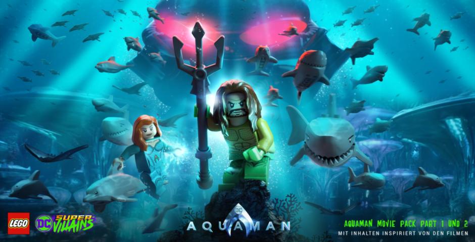 LEGO DC Super-Villains – Aquaman Download-Inhalte angekündigt
