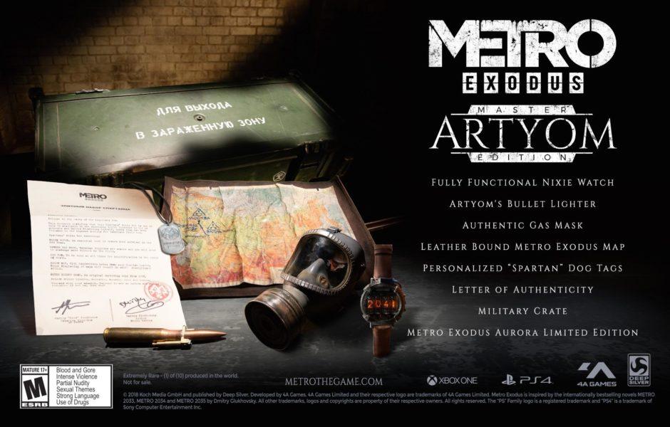 Metro Exodus – Metro-Autor stellt limitierte Artjom Custom Edition vor