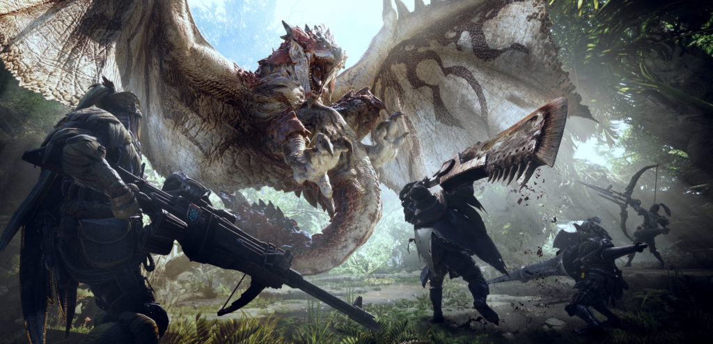 "Monster Hunter World – So ""klein"" wird es auf der Xbox One"