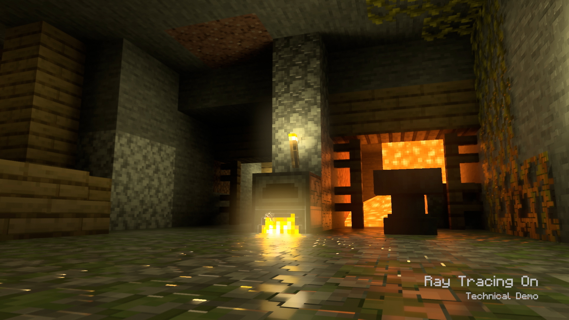 Minecraft Raytracing Demo