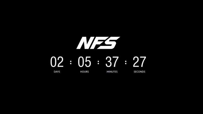 Need for Speed – Neuer Countdown endet schon in wenigen Tagen