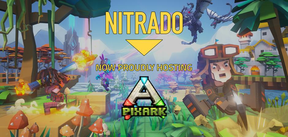 Try These Nitrado Ark {Mahindra Racing}