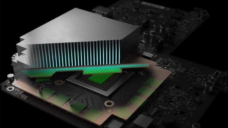 Project Scorpio – Betrachtet man das Motherboard, ist sie so groß wie die Xbox One S
