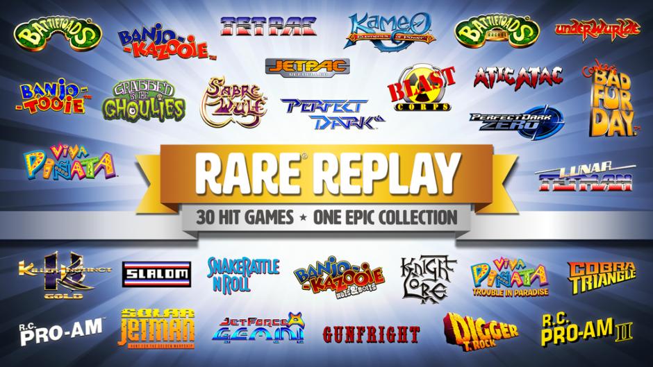 Rare Replay – Vorbesteller-Trailer erschienen
