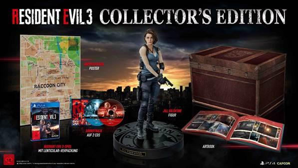 Resident Evil 3 – Bestellt euch die Collectors Edition