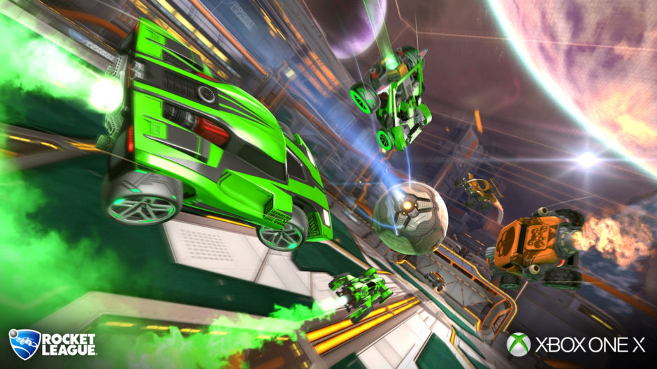 Rocket League – 4K- und HDR-Option für Xbox One X ab heute im neusten Update erhältlich