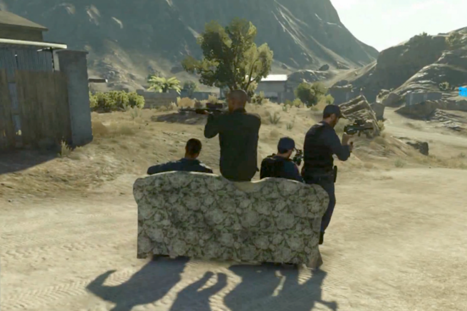 Battlefield Hardline lässt euch mit einer Couch fahren