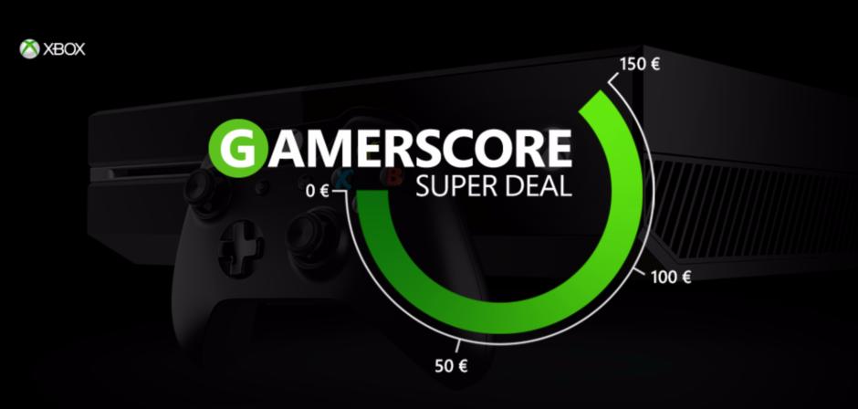 Xbox – Microsoft präsentiert den Gamerscore Super Deal!