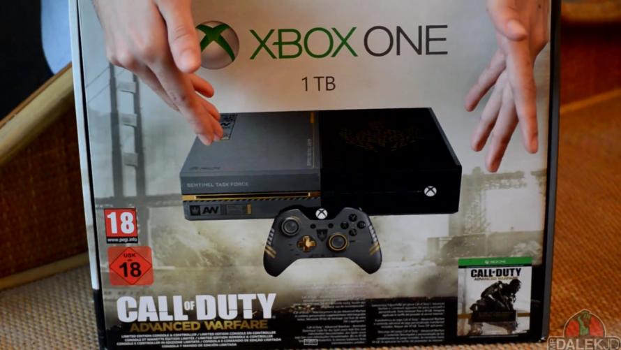 Call of Duty: Advanced Warfare Xbox One ausgepackt
