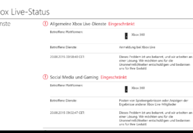 Xbox Live - Vorübergehend Probleme für Xbox 360-Besitzer