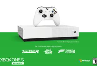 Xbox One S All-Digital Edition offiziell vorgestellt