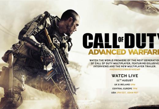 gamescom 2014: Schaut euch live die Weltpremiere des Multiplayer von Call of Duty: Advanced Warfare an