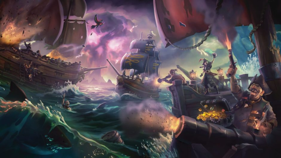 Sea of Thieves – Rare verschiebt Launch von Forsaken Shores-DLC