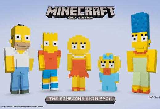 Minecraft - Simpsons Skinpaket steht ab sofort zum Download bereit