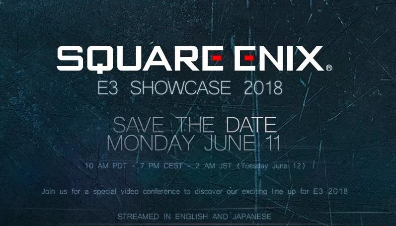 E3 2018 – Square Enix ist wieder mit dabei