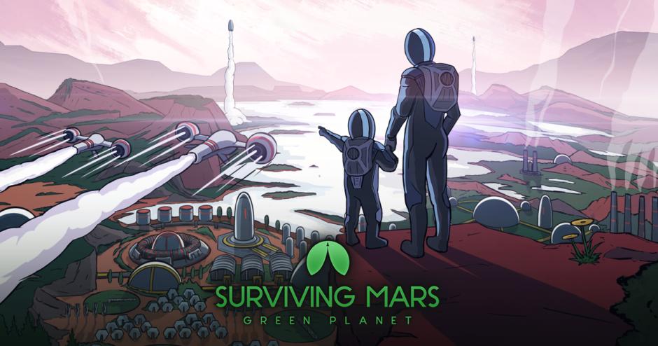 Surviving Mars – Green Planet-Erweiterung enthüllt