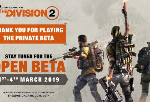 The Division 2 - Ubisoft kündigt Open Beta an