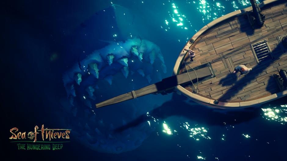 Sea of Thieves – The Hungering Deep ab sofort verfügbar