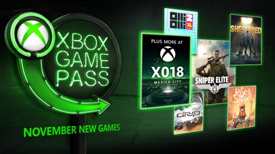 Xbox Game Pass – Freut euch auf diese Titel im November