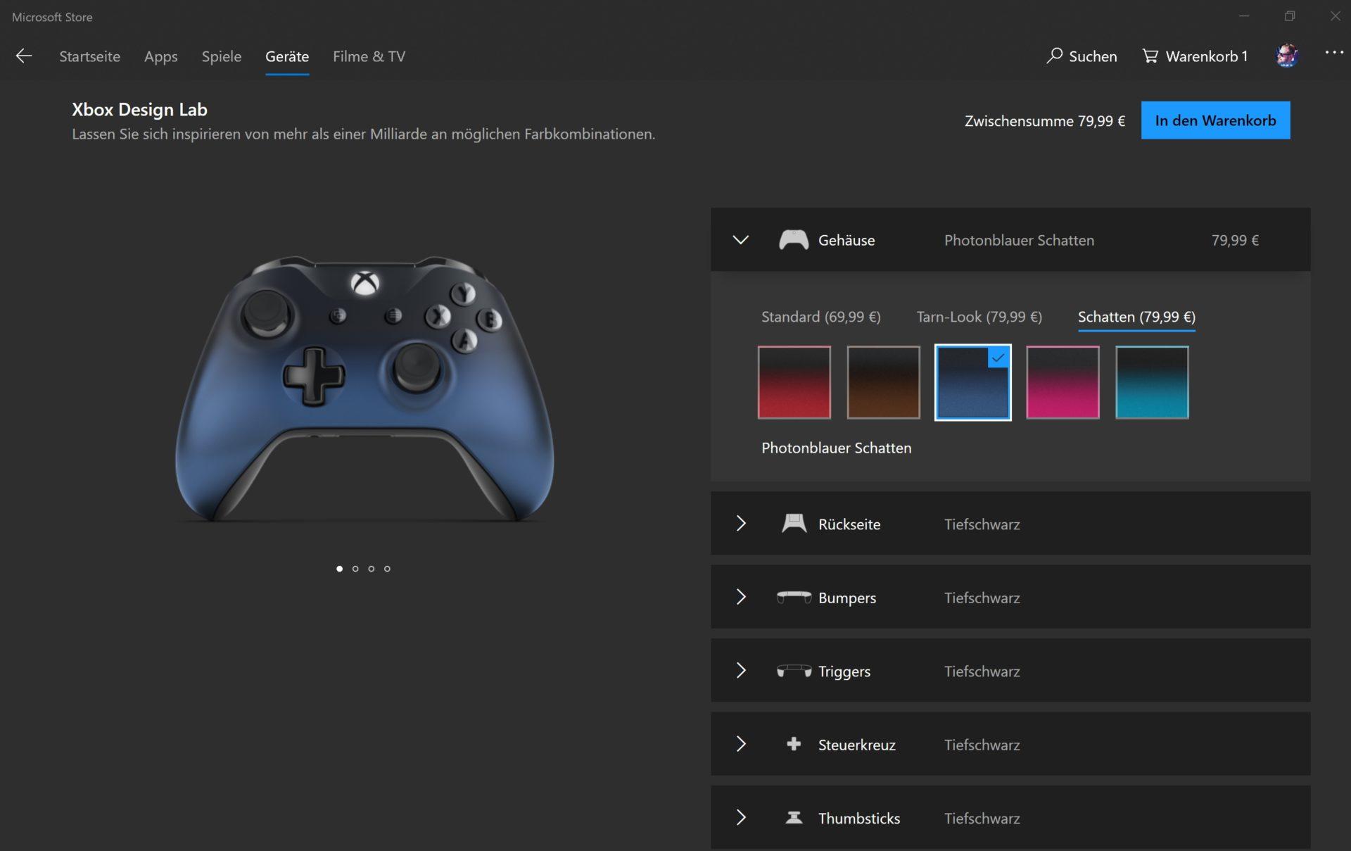 Xbox Design Lab Ab Sofort Auch Direkt Im Microsoft Store Verfugbar