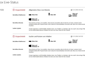 Probleme: Xbox Live- und EA-Server down